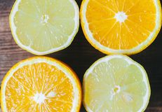 Orange And Limon Stock Images