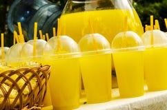 Orange limonage Arkivbilder