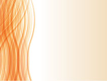 Orange Line Abstraction Royalty Free Stock Image