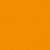Orange Linear Weaved Seamless Pattern. Royalty Free Stock Image