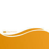 Orange linjer abstrakt vektorbakgrund Arkivbilder