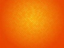 Orange linking dots background Stock Images