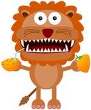 Orange lion Royalty Free Stock Photo