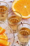 Orange liqueur Royalty Free Stock Images