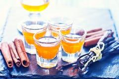 Orange liquor Stock Images