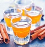Orange liquor Stock Image