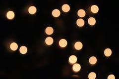 Orange ljus, cirkel och ljus - guling arkivfoton