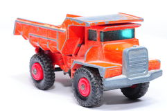 Orange LKW Lizenzfreies Stockfoto
