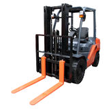 Orange loader Stock Photo