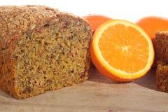 Orange loaf Stock Images
