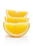 Orange lobule Royalty Free Stock Photo