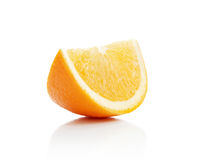 Orange lobule Stock Photography