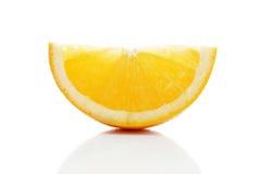 Orange lobule Royalty Free Stock Image