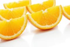 Orange lobule Stock Image