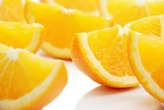 Orange lobule Royalty Free Stock Photos