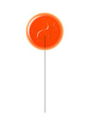 Orange Lollipop Royalty Free Stock Photos