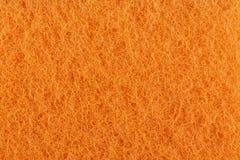 Orange washcloth close-up stock photography