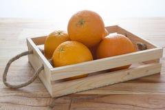 Orange. A lot of orange in basket stock images