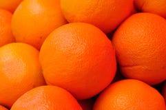 Orange. A lot of orange under umbrella Stock Photos