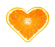 Orange love Royalty Free Stock Photo