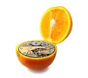 Orange mécanique Images stock