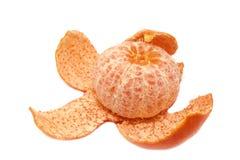 Orange mûre enlevée photos libres de droits