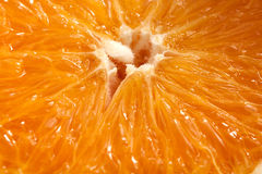 Orange macro Royalty Free Stock Photography
