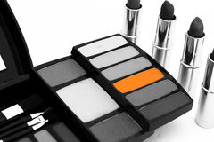 Orange Make up care Royalty Free Stock Images