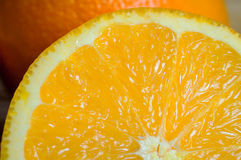 Orange Makro Lizenzfreie Stockfotografie