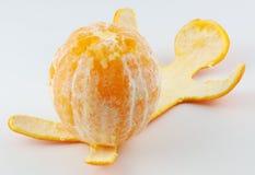 Orange man 3. Sexy orange man on the white backgrounds, humour Stock Images
