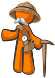 Orange Man Dr Livingstone, Explorer and Adventurer Stock Image
