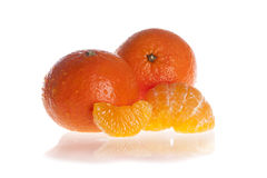 Orange mandarin Royalty Free Stock Images