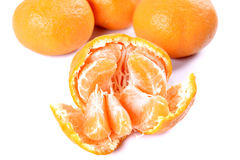 Orange mandarin Fruit Stock Photography