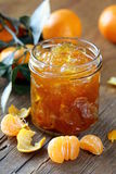 Orange mandarin homemade jam marmelade Stock Photo