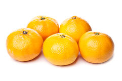 Orange mandarin isolated Royalty Free Stock Photos