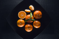Orange mandarin Royalty Free Stock Image