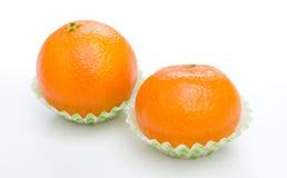 Orange mandarin or tangerine fruit Royalty Free Stock Image