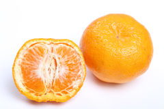 Orange mandarin or tangerine fruit Stock Photos