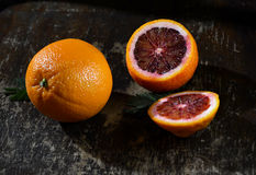 Orange, mandarines Images libres de droits