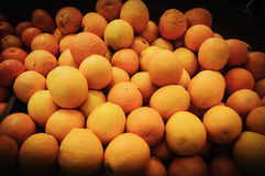 Orange mandarines Royalty Free Stock Images