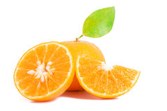 Orange mandarins Royalty Free Stock Image