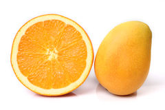 Orange and mango Stock Image