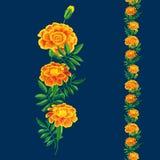 Orange marigold bouquet Royalty Free Stock Image