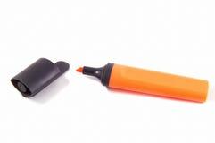 Orange Markierung Lizenzfreies Stockfoto