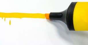 Orange Markierung Lizenzfreie Stockfotos