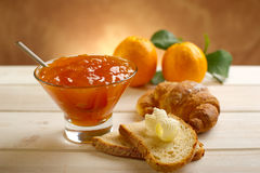 Orange marmalade Royalty Free Stock Photos