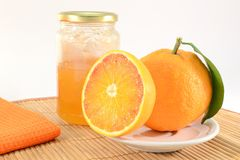 Orange marmalade Stock Photography