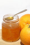 Orange marmalade Royalty Free Stock Image