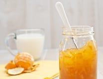 Orange marmalade Royalty Free Stock Photography