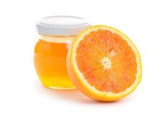 Orange and marmalade Royalty Free Stock Image